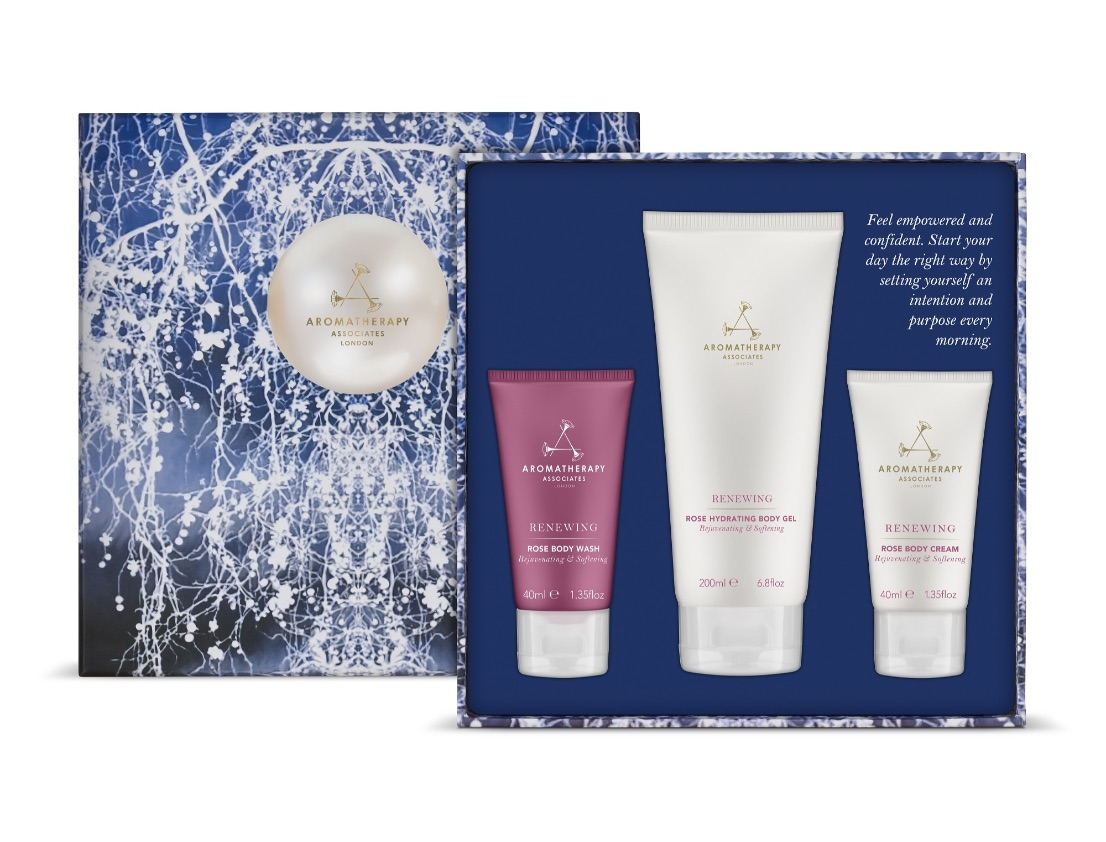 Aromatherapy Associates 2018 The Power of Rose Travel Collection Gift Set