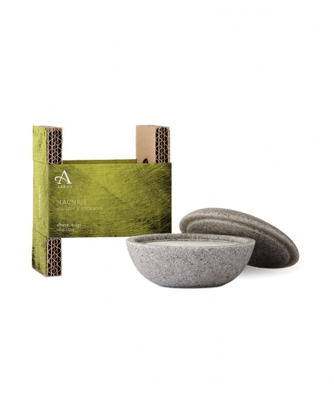 Arran Machrie Shave Stone and Soap 100g