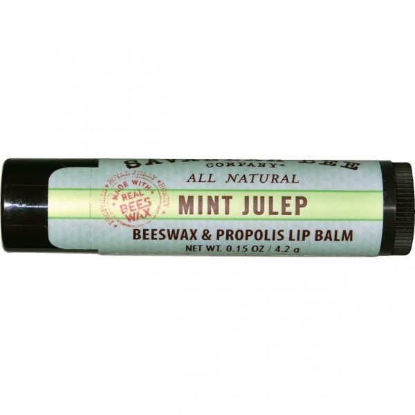 Savannah Bee Mint Julep Beeswax Lip Balm 4.2g