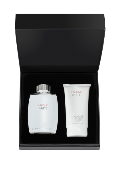 Lalique White for Men Eau De Toilette 125ml Gift Set