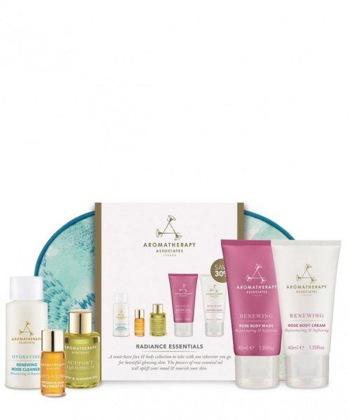Aromatherapy Associates Radiance Essentials Cosmetic Bag