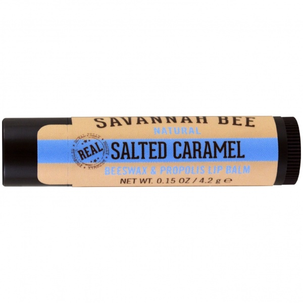 Savannah Bee Salted Caramel Beeswax Lip Balm 4.2g