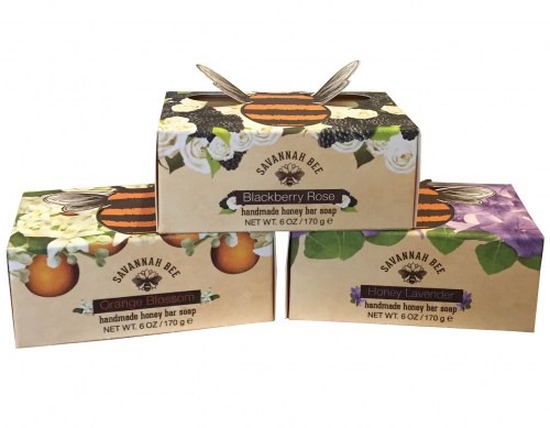 Savannah Bee Orange Blossom Honey Bar Soap 170g
