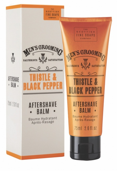 Scottish Fine Soaps Mens Grooming Aftershave Balm 75ml