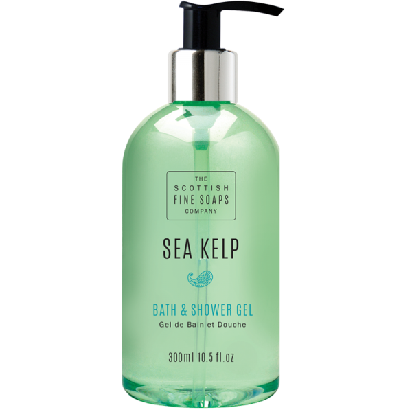 Scottish Fine Soaps Sea Kelp Bath & Shower Gel 10.5oz (300ml)