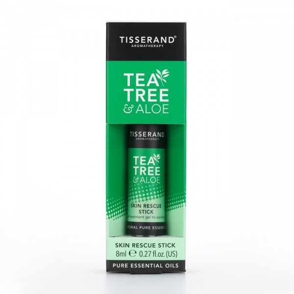 Tisserand Aromatherapy Tea Tree & Aloe Rescue Stick 8ml
