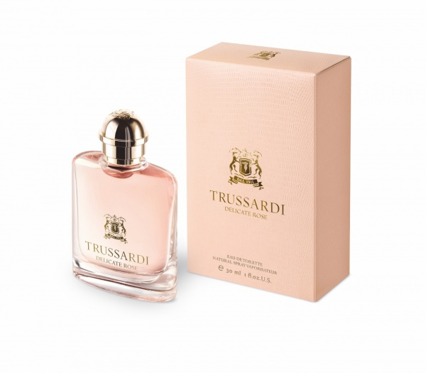Trussardi Delicate Rose Eau De Toilette 1.0oz (30ml)