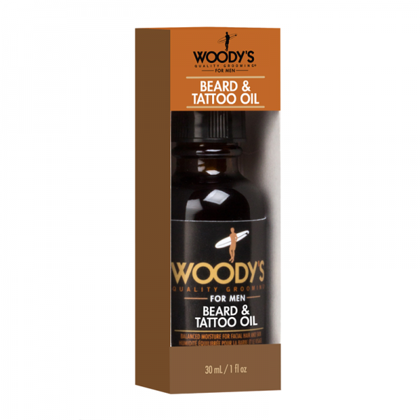 Woodys Beard and Tattoo Oil 1.0oz (30ml)